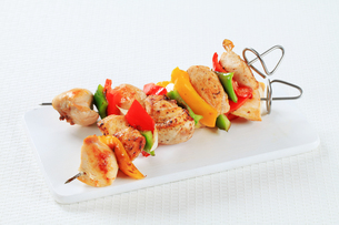 Chicken skewersの写真素材 [FYI00650725]