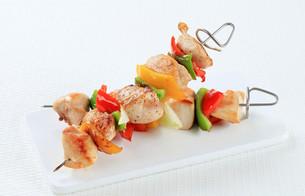 Chicken skewersの写真素材 [FYI00650726]