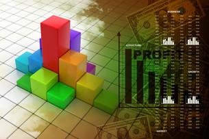 Business graphの写真素材 [FYI00650819]