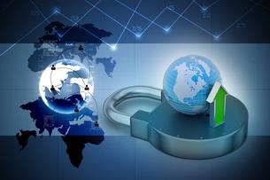 Internet security conceptの写真素材 [FYI00650939]
