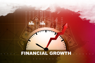 Financial annual report conceptの素材 [FYI00650951]