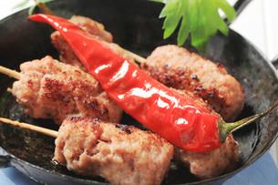 Minced meat kebabsの写真素材 [FYI00651046]