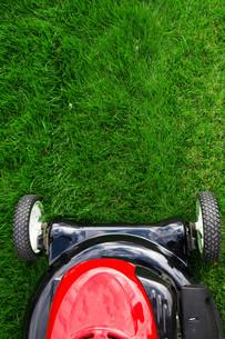 Lawn mowerの写真素材 [FYI00651060]