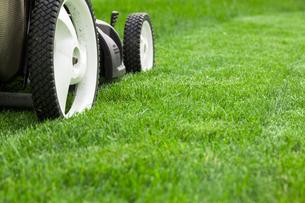 Lawn mowerの写真素材 [FYI00651067]