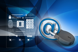 Internet security conceptの写真素材 [FYI00651140]