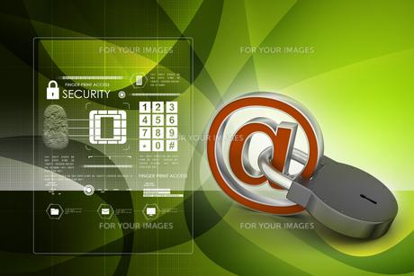 Internet security conceptの写真素材 [FYI00651141]