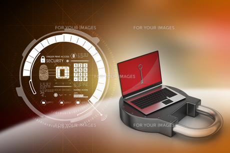 Internet security conceptの写真素材 [FYI00651161]
