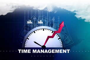 Time management conceptの写真素材 [FYI00651224]