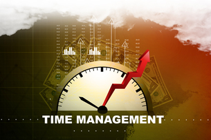 Time management conceptの写真素材 [FYI00651227]