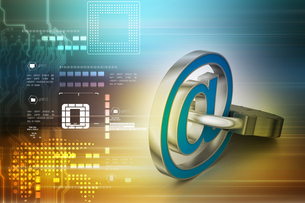 Internet security conceptの写真素材 [FYI00651297]