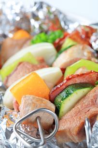 Pork skewersの写真素材 [FYI00651326]