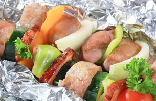 Pork skewersの写真素材 [FYI00651330]