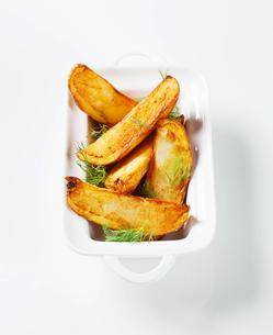 Potato wedgesの写真素材 [FYI00651362]