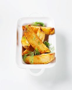 Potato wedgesの写真素材 [FYI00651364]