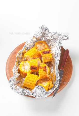 Grilled cornの写真素材 [FYI00651373]