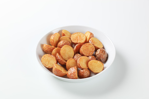 Roasted new potatoesの写真素材 [FYI00651398]