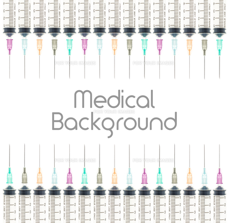 Five Color Medical Background on Top and Bottom Viewの素材 [FYI00651614]