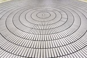 Circle tilesの写真素材 [FYI00651625]