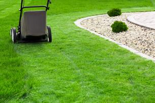 Lawn mowerの写真素材 [FYI00651629]
