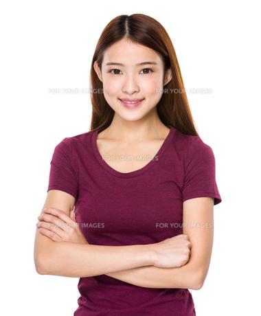 Chinese woman portraitの写真素材 [FYI00651655]