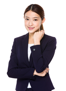 Beautiful confident business womanの写真素材 [FYI00651701]