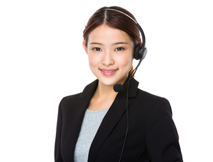 Customer services officerの写真素材 [FYI00651733]