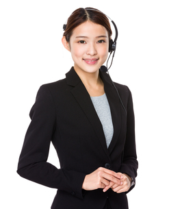 Customer services representativeの写真素材 [FYI00651736]