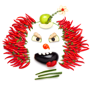 Chilli clown.の写真素材 [FYI00651803]