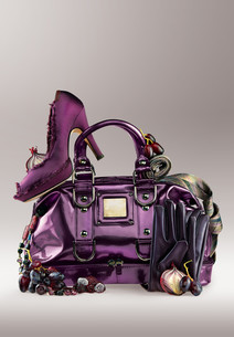 Violet elegance.の写真素材 [FYI00651831]