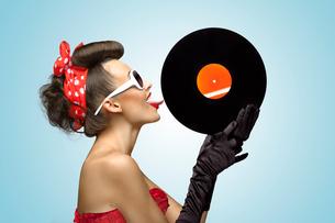 The vinyl desire.の写真素材 [FYI00651845]