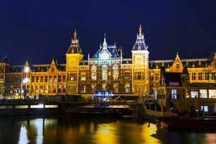 Amsterdam Centraal railway stationの写真素材 [FYI00652034]