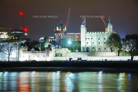 Tower fortress in Londonの写真素材 [FYI00652094]