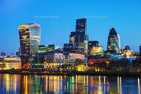 Financial district of the City of Londonの写真素材 [FYI00652099]