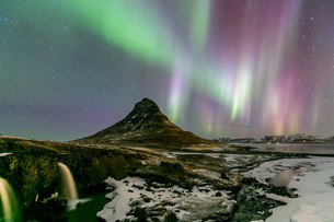 Northern Light Aurora borealisの写真素材 [FYI00652195]