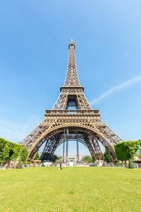 Eiffel Tower Parisの写真素材 [FYI00652196]