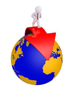 Business service worldwideの写真素材 [FYI00652452]