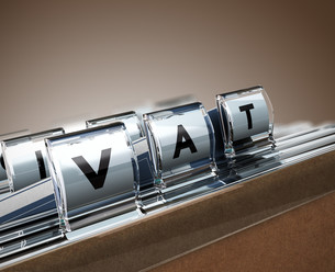 VAT, Value Added Taxの写真素材 [FYI00652561]