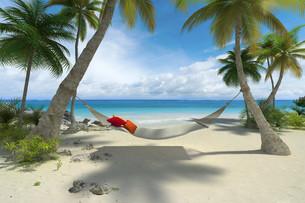 Relax on the beachの写真素材 [FYI00652826]