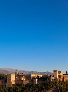 Alhambra in Granada - Spainの写真素材 [FYI00652912]