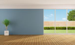 Empty living roomの写真素材 [FYI00653090]