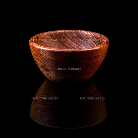 Wooden bowlの写真素材 [FYI00653109]