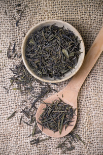Dry tea leavesの写真素材 [FYI00653131]