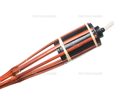 Bamboo torchの写真素材 [FYI00653278]