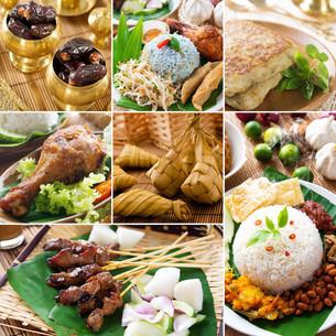 Collage delicious ramadan foodの写真素材 [FYI00653280]