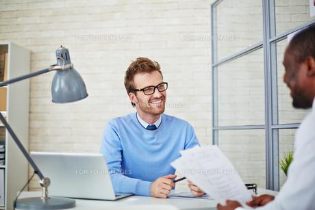 Business interviewの写真素材 [FYI00653526]