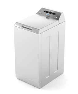 Silver top load washing machineの素材 [FYI00653761]