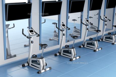 Exercise bikesの写真素材 [FYI00653763]