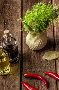 fresh fennel full of vitamins and fibersの写真素材 [FYI00654064]