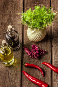 fresh fennel full of vitamins and fibersの写真素材 [FYI00654065]