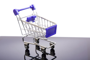 shopping cartの写真素材 [FYI00654307]